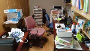 仕事部屋 掃除前