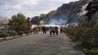 春祭り会場の写真