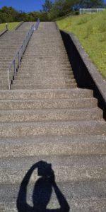 ハーモニーランドの階段の写真