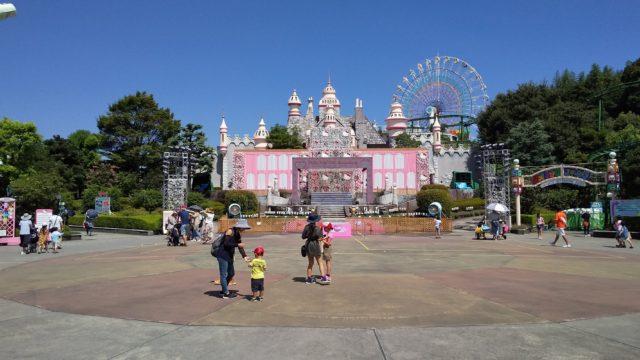 ハーモニーランドお城の写真